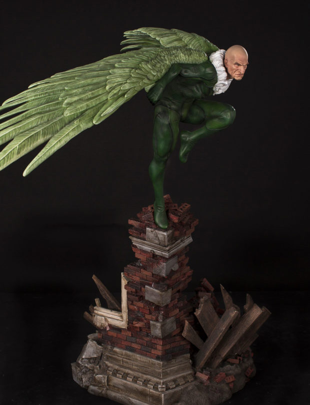 lizard_vulture_fourth_scale_statues_by_xm_studios_4