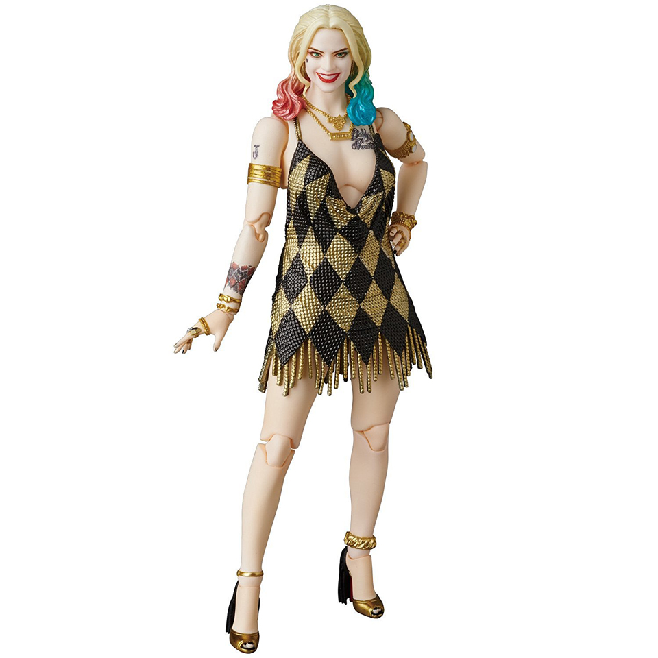 Medicom MAFEX Suicide Squad Harley Quinn Dress Version Action Figure