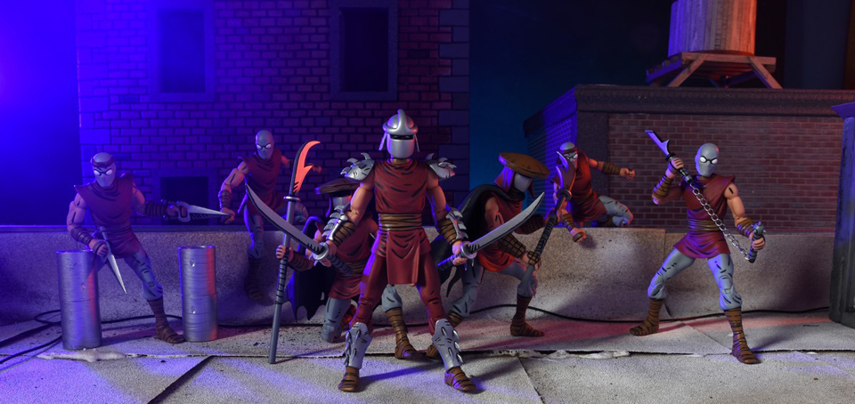 NECA NYCC Exclusive TMNT Eastman & Laird Villains 4-pack