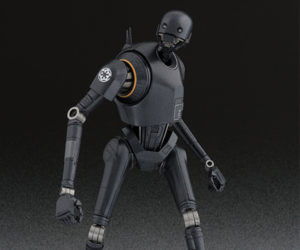S.H. Figuarts Rogue One, Han Solo & Unmasked Kylo Ren Action Figures