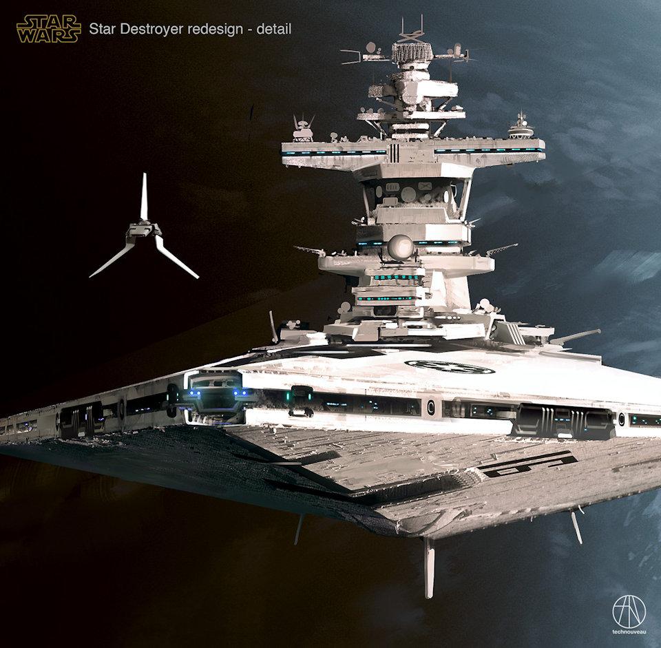 This Star Wars Star Destroyer Redesign Is Badass