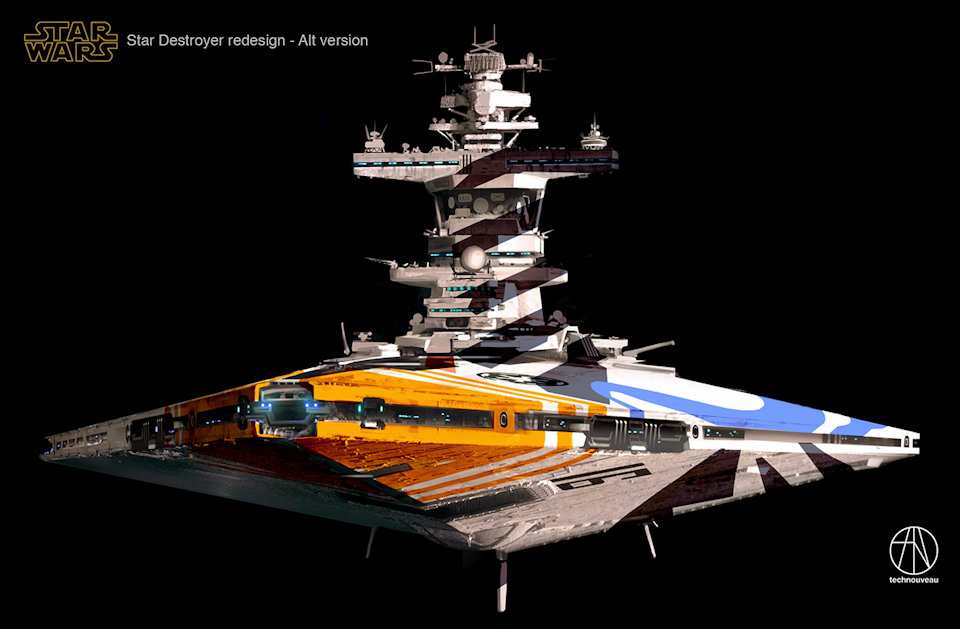 This Star Wars Star Destroyer Redesign Is Badass Mightymega
