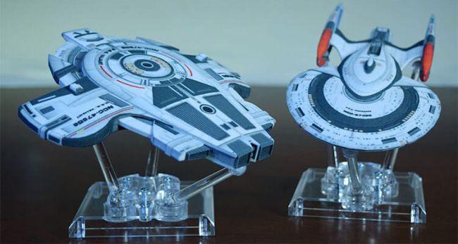 Official 3D Printed Star Trek Spaceships Arriving Soon