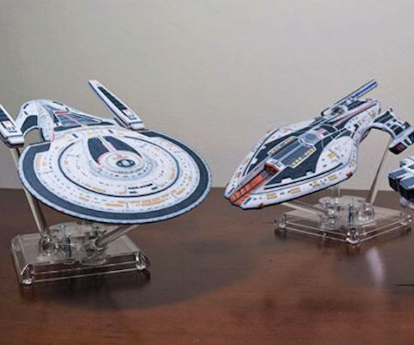 Official 3D Printed Star Trek Spaceships Arriving Soon