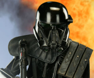 Sideshow Star Wars Rogue One Specialist Death Trooper Premium Format Figure