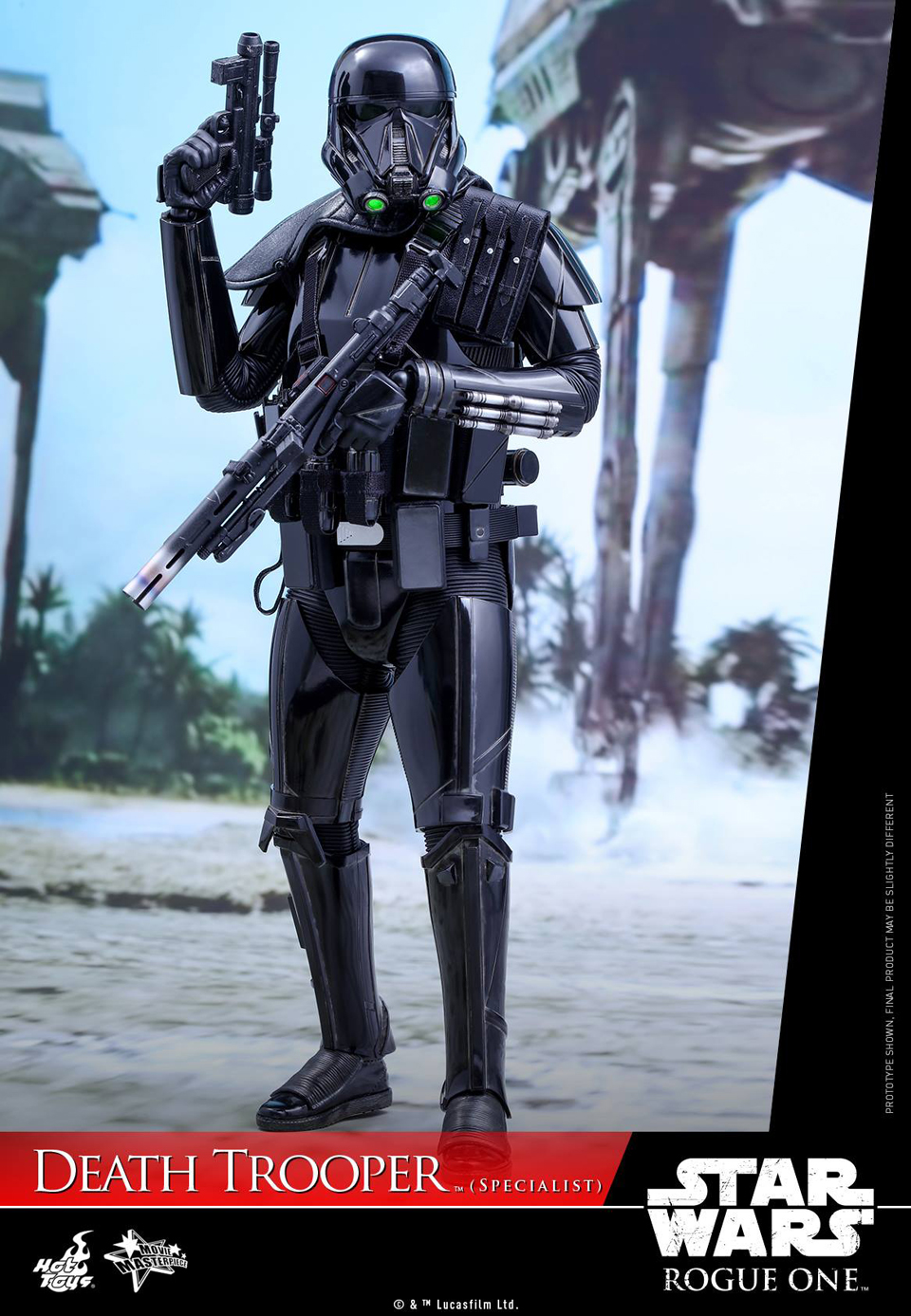 Hot Toys Star Wars Rogue One Specialist Death Trooper 1/6 Scale Action Figure