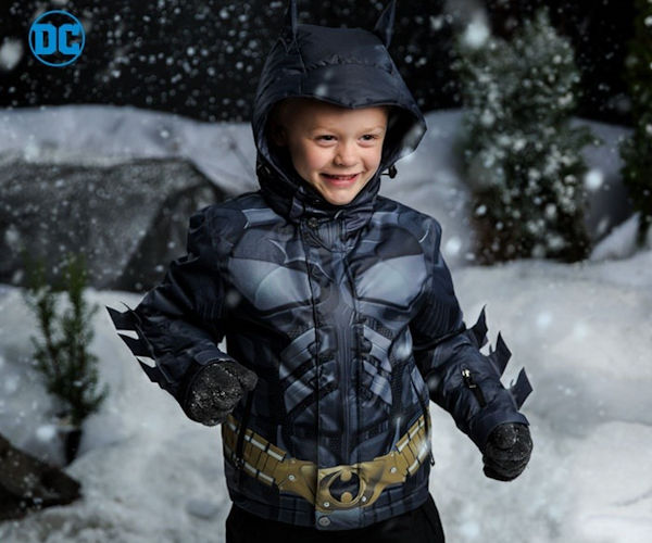 Awesome Marvel and DC Comics Outerwear