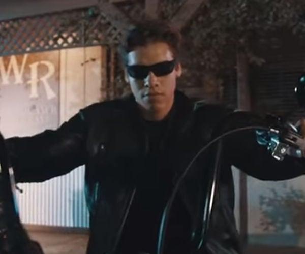 Arnold Schwarzenegger's Son Recreates Terminator 2 Scene