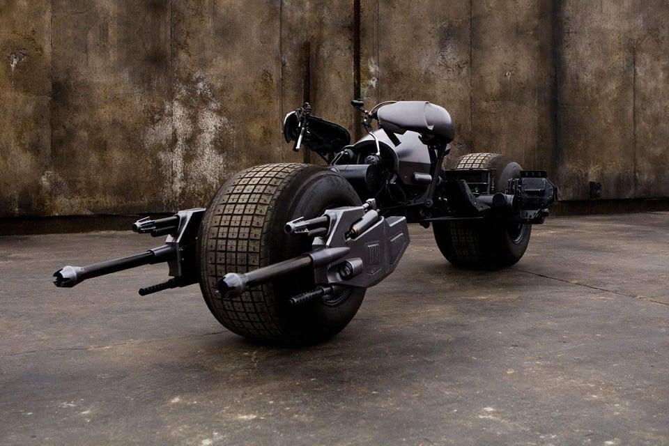 The Dark Knight Batpod Movie Prop Up for Bidding