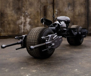 The Dark Knight Batpod Movie Prop Up for Bidding