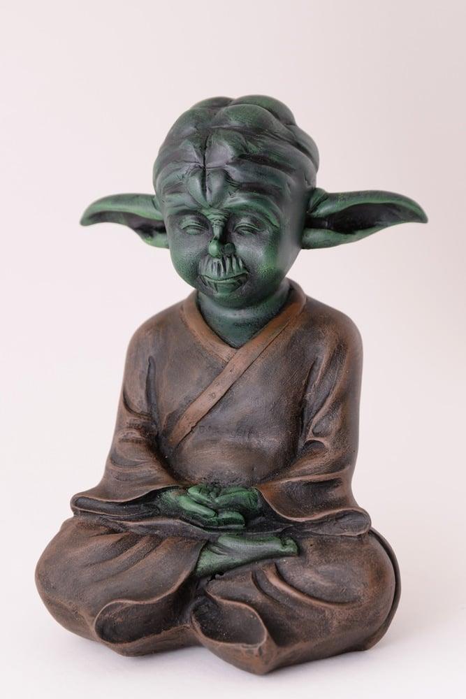 Yoda The Calm Buddha Sculpture