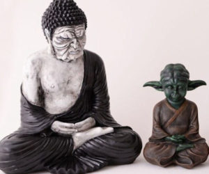 Yoda The Calm Buddha Sculpture