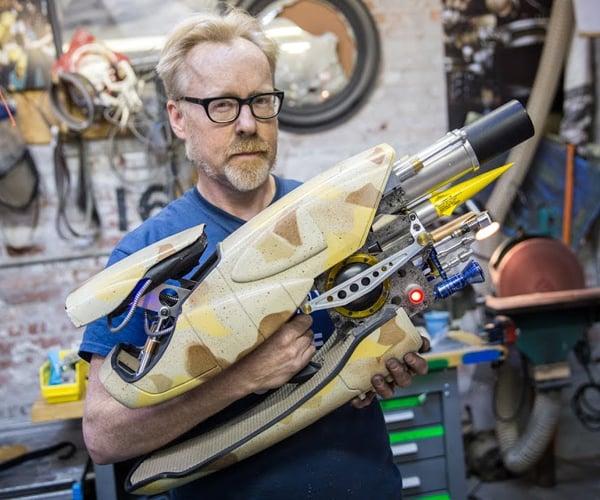 Adam Savage's Zorg ZF-1 Prop Replica