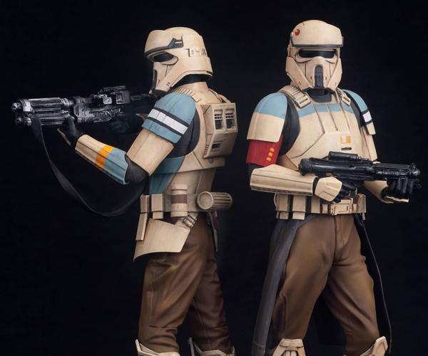 Kotobukiya Rogue One Scarif Trooper ARTFX+ Two-pack