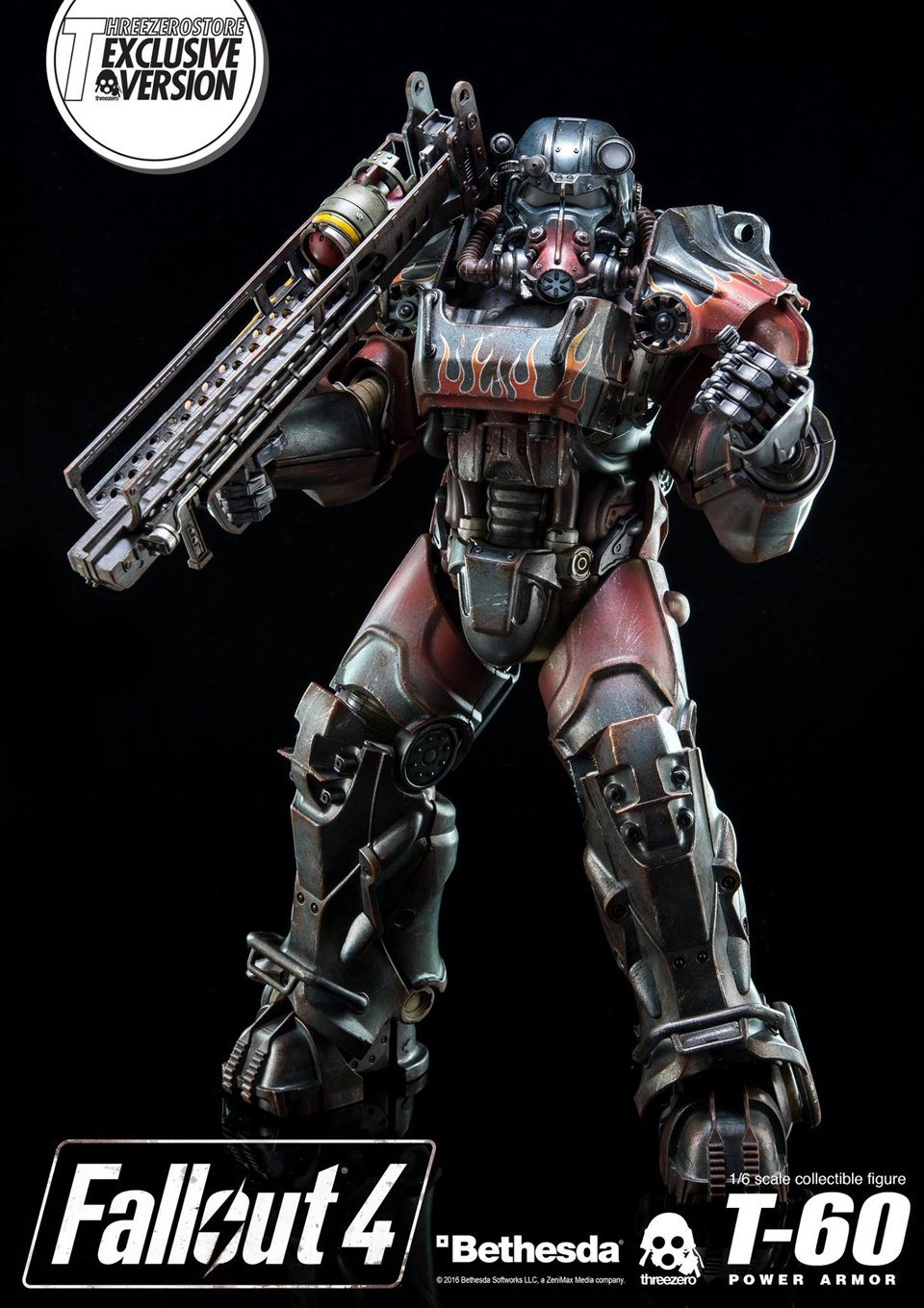 Threezero Fallout T-60 Power Armor 1/6 Scale Action Figure
