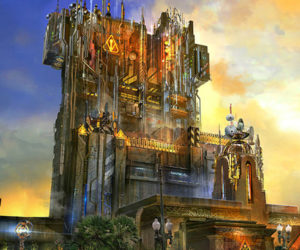 A Look at Disney's New Guardians of the Galaxy Ride