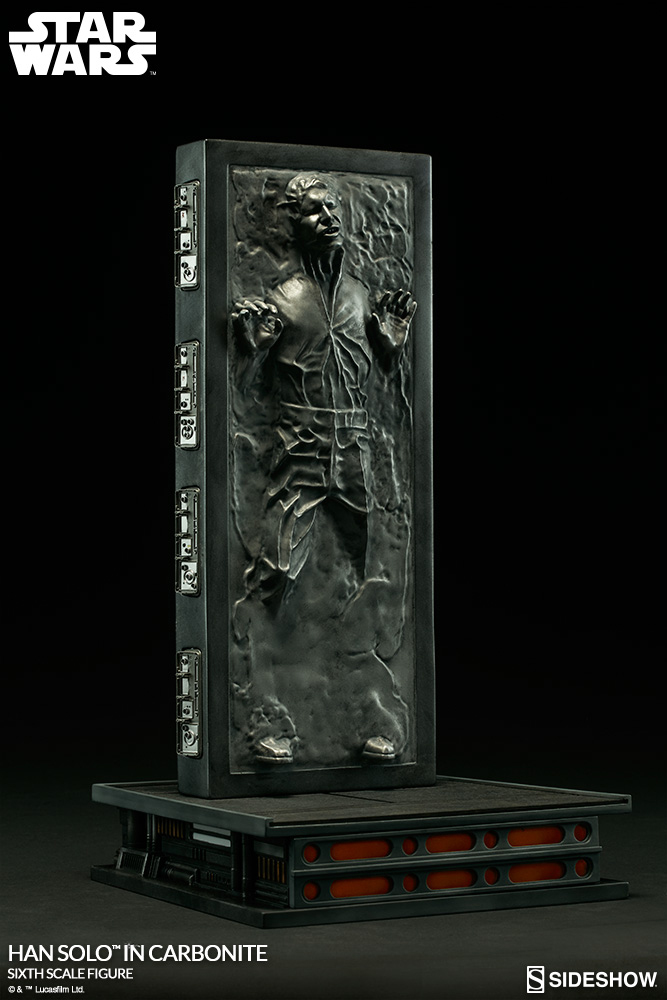 Image Result For Han Solo In Carbonite Life Size