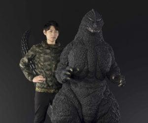 Bandai Human Size Godzilla Statue