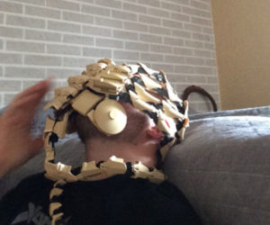 LEGO Facehugger: In Face No One Can Hear You Breathe