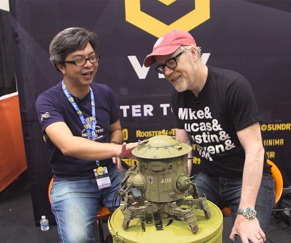 Adam Savage Interviews Machination Studio's Michael Sng