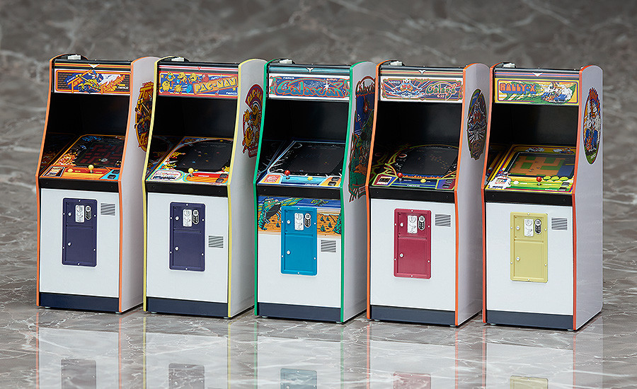 FREEing Namco Arcade Machine 1/12 Scale Collection