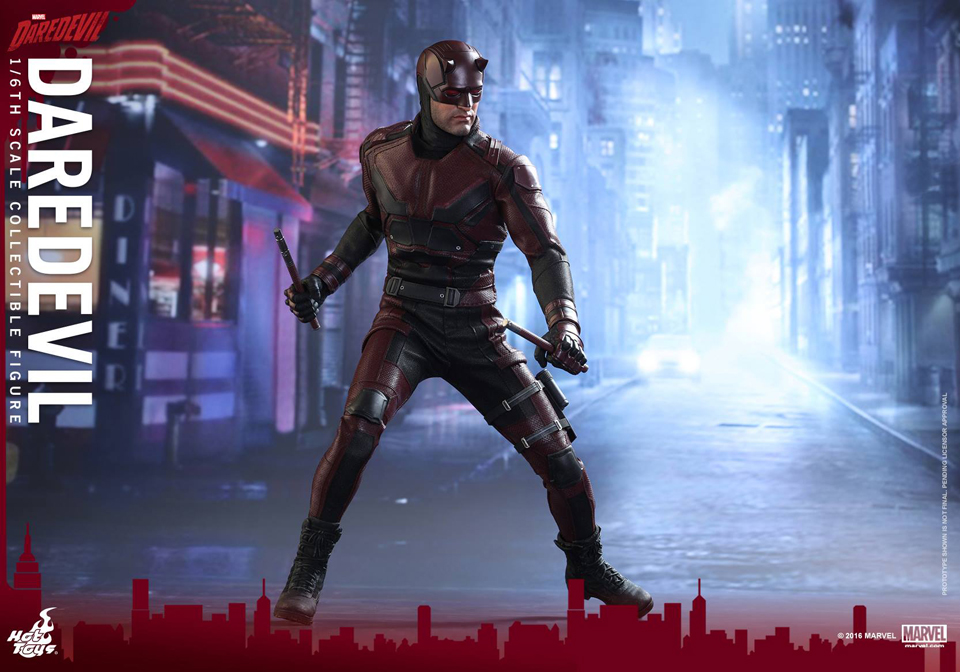 Hot Toys Netflix Daredevil 1/6 Scale Action Figure