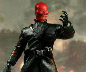 Mezco One:12 Collective Red Skull Action Figure