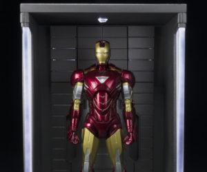 Bandai S.H. Figuarts Iron Man 3 Hall of Armor Display Case