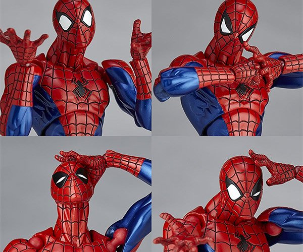Revoltech's Spider-Man Figure Is Super Poseable