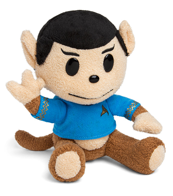 Plush Spock Monkey Is Highly Logical