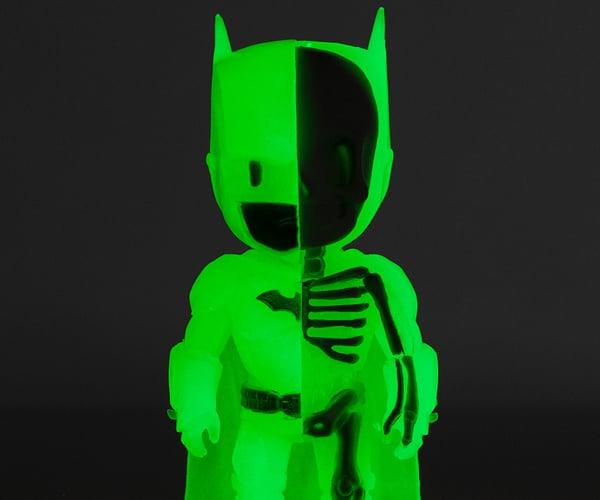 XXRAY Glow-in-the-Dark Batman Figure