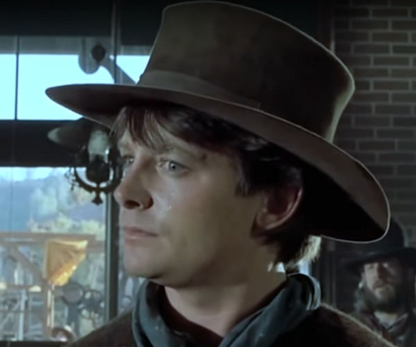 Back to the Future III Westworld Mashup