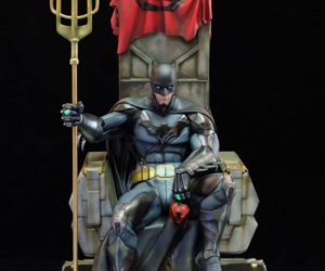 Salt & Pepper Batman: Contingency Plan 1/4 Scale Statue