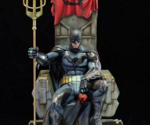Salt & Pepper Batman: Contingency Plan 1/4 Scale Statue