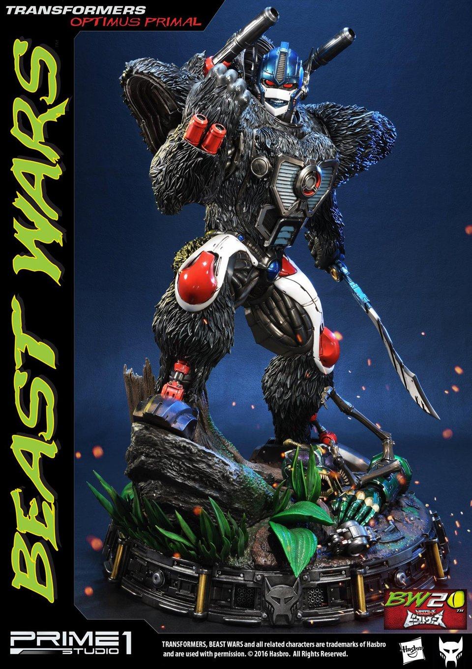 Prime 1 Beast Wars Optimus Primal Statue
