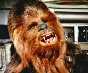 Chewie Speaks English in Rare Star Wars Footage