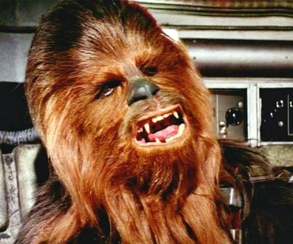 Chewie Speaks English in Rare Star Wars Footage