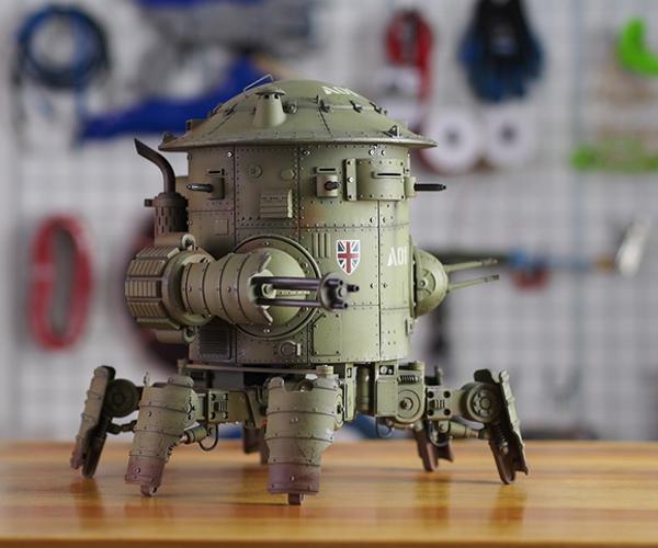 Codename: Colossus Mk.1 Cyclops Now on Kickstarter