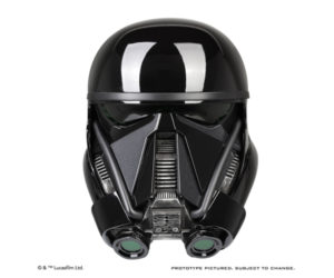 Anovos Rogue One Deathtrooper Helmet Life-size Replica