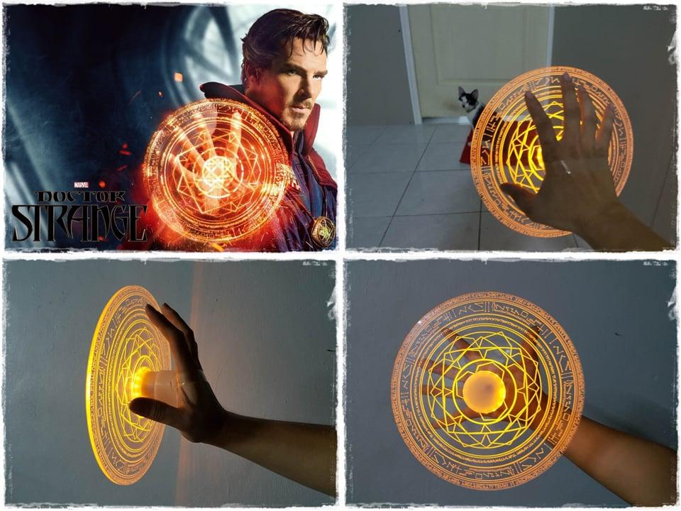 Doctor Strange Mandalas of Light Props