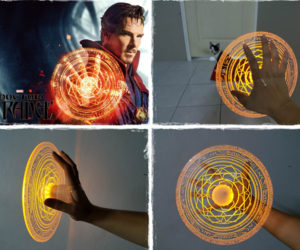 Doctor Strange Mandalas of Light Props