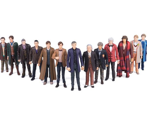 Doctor Who 13 Doctors Figure Set