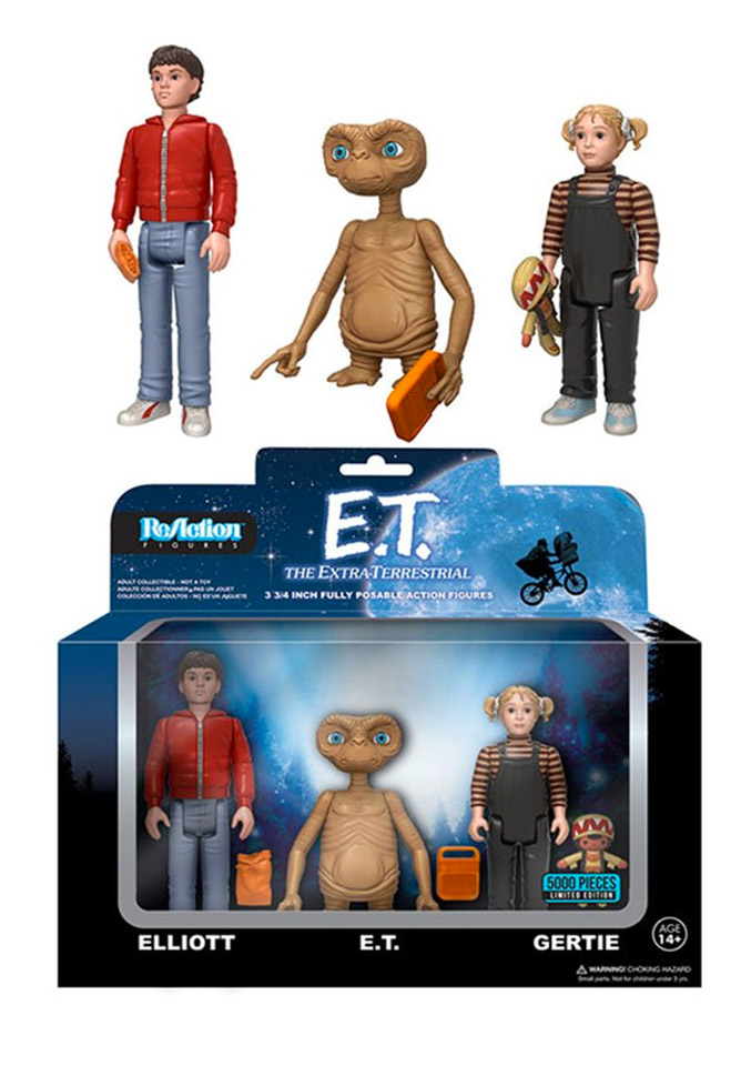 Funko E.T. The Extra-Terrestrial ReAction Figures