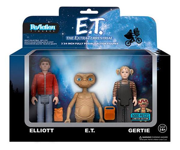 Funko E.T. The Extra-Terrestrial ReAction Figures