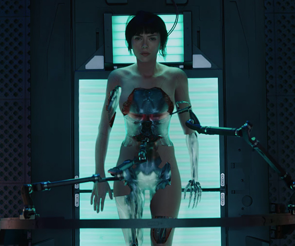 Ghost in the Shell Debut Trailer