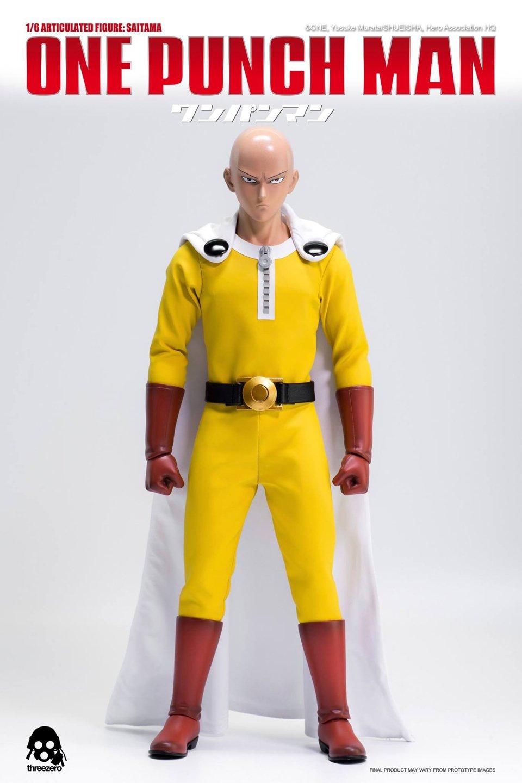 Threezero One Punch Man Saitama 1/6 Scale Action Figure