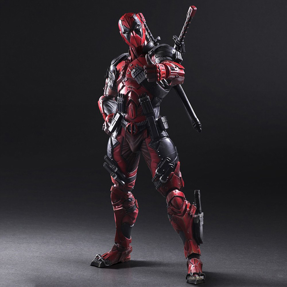 Play Arts Kai Deadpool Action Figure