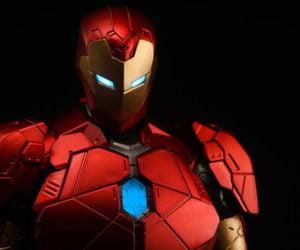 Sentinel Re:Edit Iron Man Shape Changing Armor Action Figure