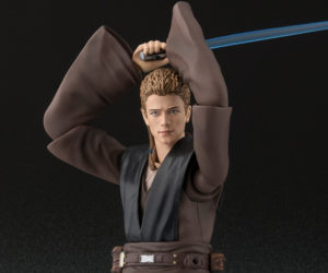 Bandai S.H. Figuarts Anakin & Chewbacca Action Figures