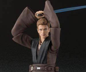 Bandai S.H. Figuarts Anakin & Chewbacca Action Figures